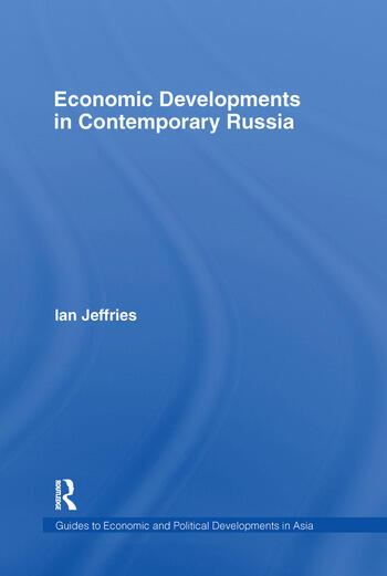 Economic Developments in Contemporary Russia book cover