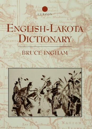 English-Lakota Dictionary book cover
