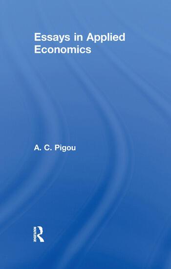 Essays in Applied Economics book cover