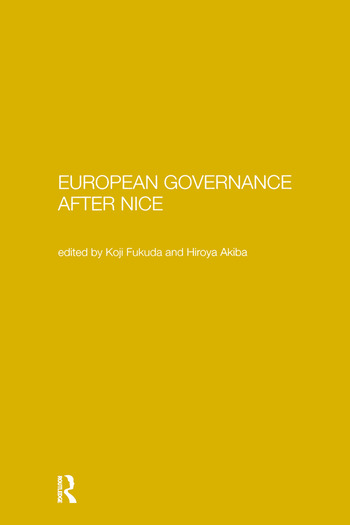 European Governance After Nice book cover