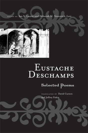 Eustache Deschamps Selected Poems book cover