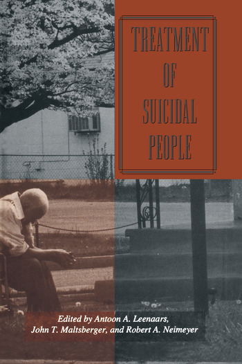 Treatment Of Suicidal People book cover