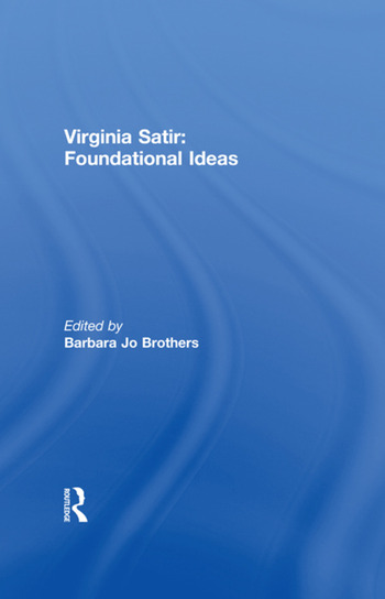 Virginia Satir Foundational Ideas book cover
