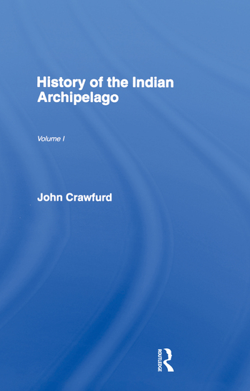 History of the Indian Archipelago book cover