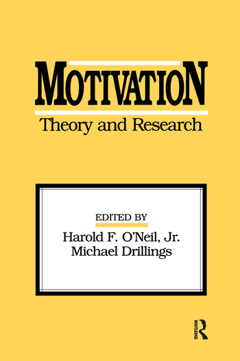 Motivation: Theory and Research book cover