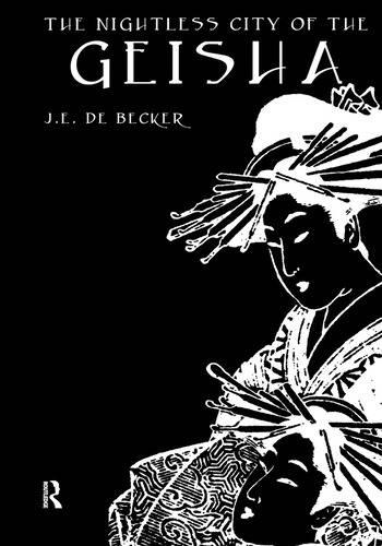 Nightless City Of Geisha book cover