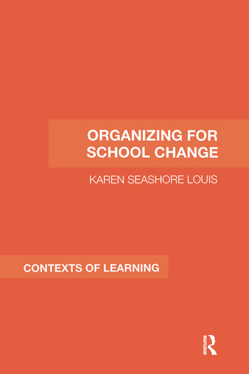 Organizing for School Change book cover