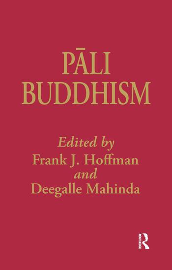 Pali Buddhism book cover