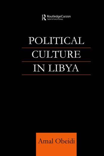 Political Culture in Libya book cover