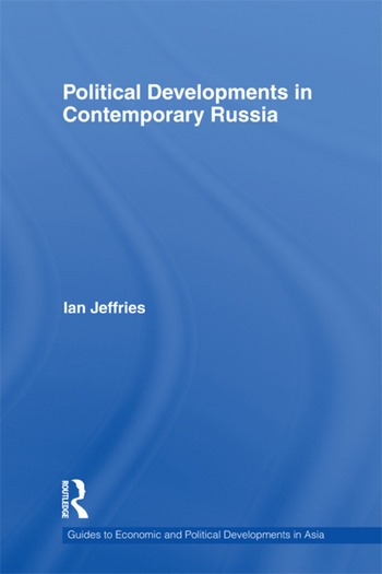 Political Developments in Contemporary Russia book cover
