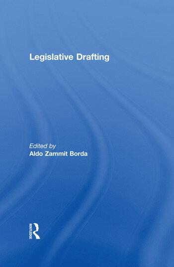 Legislative Drafting book cover