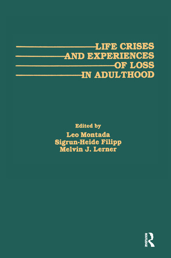 Life Crises and Experiences of Loss in Adulthood book cover