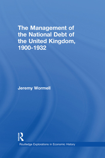 The Management of the National Debt of the United Kingdom 1900-1932 book cover