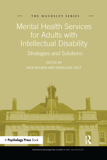 Mental Health Services for Adults with Intellectual Disability Strategies and Solutions book cover