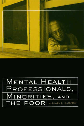 Mental Health Professionals, Minorities and the Poor book cover
