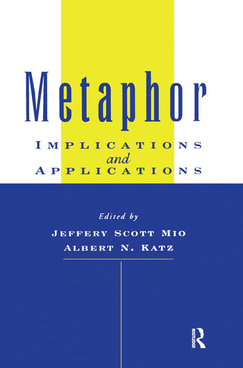 Metaphor Implications and Applications book cover
