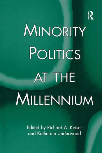 Minority Politics at the Millennium book cover