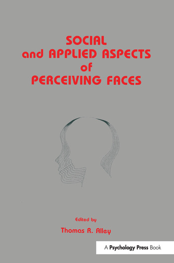 Social and Applied Aspects of Perceiving Faces book cover
