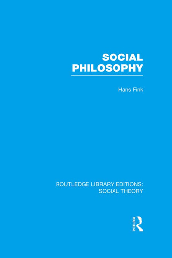 Social Philosophy book cover