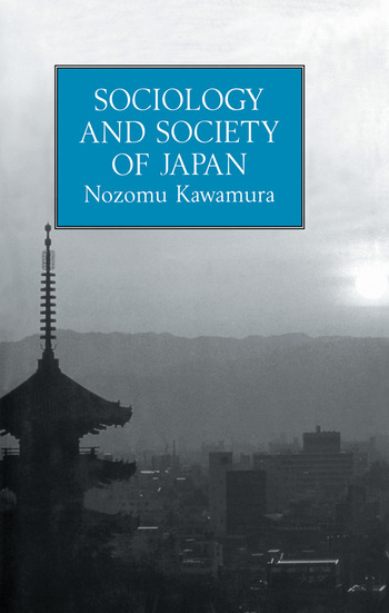 Sociology & Society Of Japan book cover