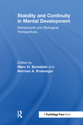 Stability and Continuity in Mental Development Behavioral and Biological Perspectives book cover
