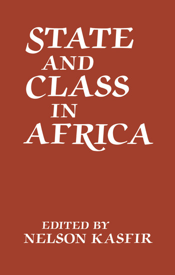 State and Class in Africa book cover
