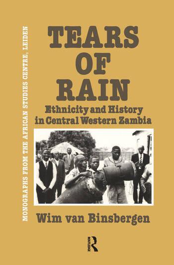 Tears Of Rain - Ethnicity & Hist book cover