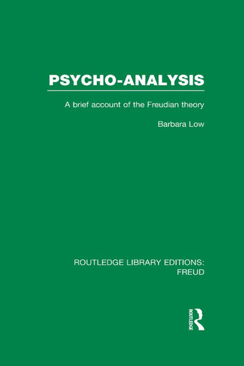 Psycho-Analysis A Brief Account of the Freudian Theory book cover