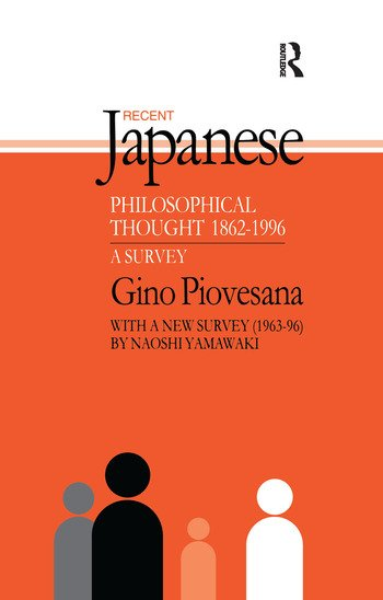 Recent Japanese Philosophical Thought 1862-1994 A Survey book cover