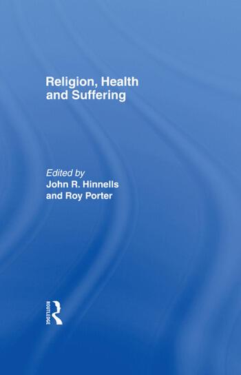 Religion Health & Suffering book cover
