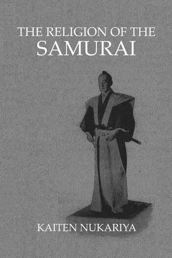 Religion Of The Samurai book cover