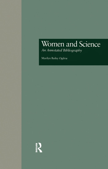Women and Science An Annotated Bibliography book cover