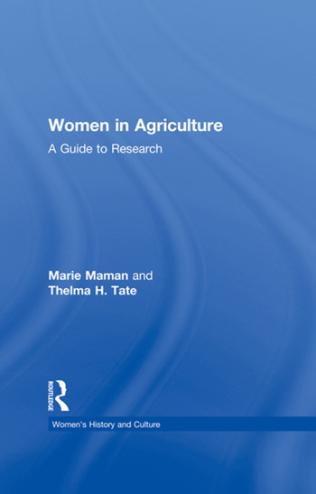 Women in Agriculture A Guide to Research book cover