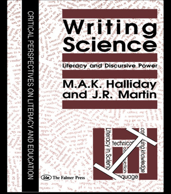 Writing Science Literacy And Discursive Power book cover