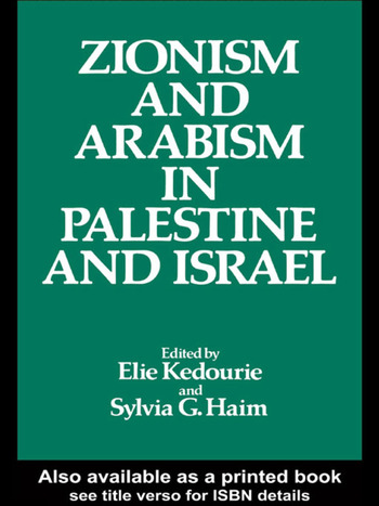 Zionism and Arabism in Palestine and Israel book cover