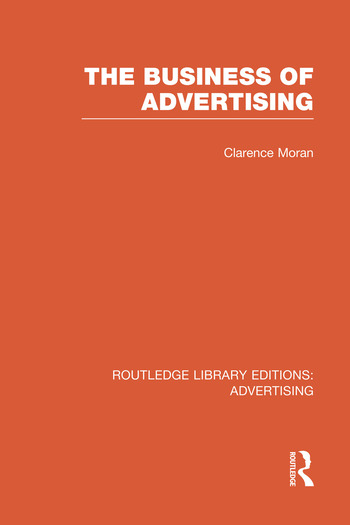 The Business of Advertising book cover