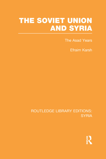 The Soviet Union and Syria book cover