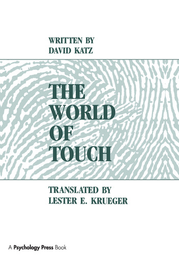 The World of Touch book cover