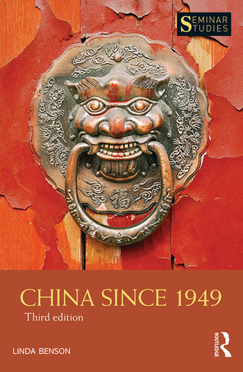 China Since 1949 book cover