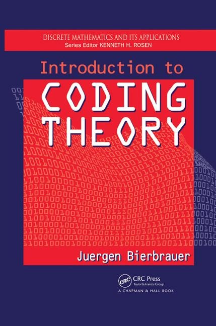 Introduction to Coding Theory book cover