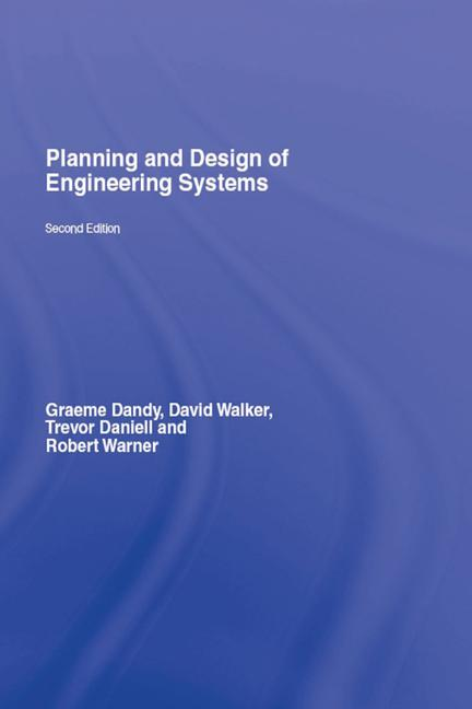 Planning and Design of Engineering Systems book cover