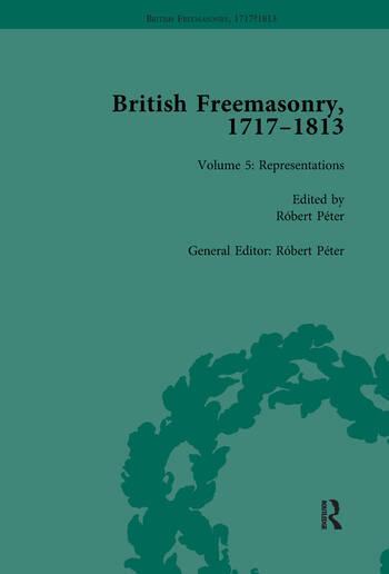 British Freemasonry, 1717-1813 Volume 5 book cover