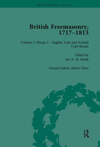 British Freemasonry, 1717-1813 Volume 2 book cover