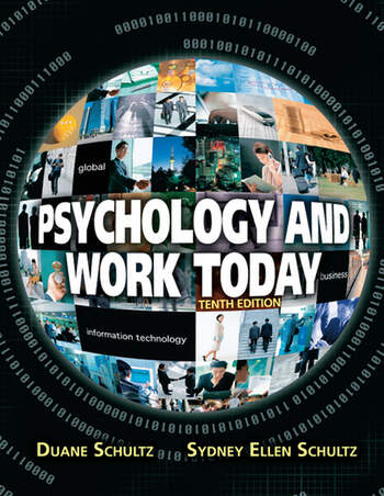 Psychology and Work Today Pearson New International Edition CourseSmart eTextbook book cover