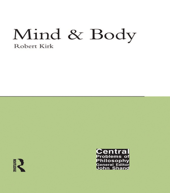 Mind and Body book cover