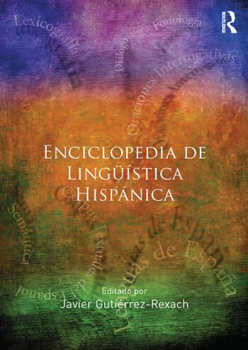 Enciclopedia de Lingüística Hispánica book cover