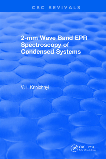 2-mm Wave Band EPR Spectroscopy of Condensed Systems book cover