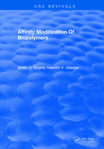 Affinity Modification Of Biopolymers book cover