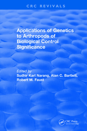 Applications of Genetics to Arthropods of Biological Control Significance book cover