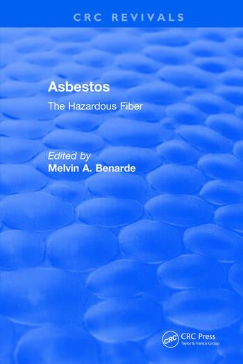 Asbestos The Hazardous Fiber book cover